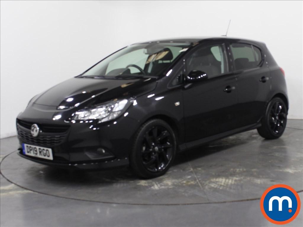 Vauxhall Corsa SRi Vx-line Nav Black - Stock Number 1110454 Passenger side front corner