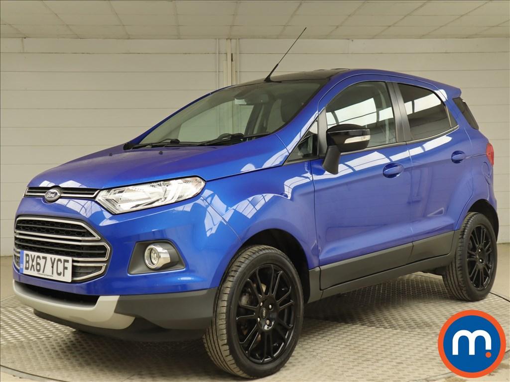 Ford Ecosport 1.0 EcoBoost 140 Titanium S 5dr - Stock Number 1116342 Passenger side front corner
