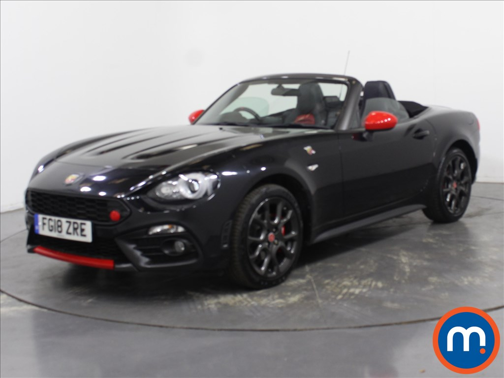 Abarth 124 Spider 1.4 T MultiAir 2dr Auto - Stock Number 1110854 Passenger side front corner