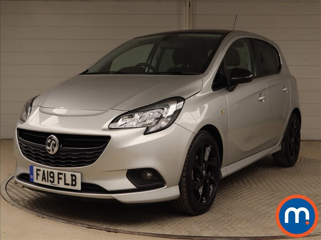 Vauxhall Corsa SRi Vx-line Nav Black - Stock Number 1117185 Passenger side front corner
