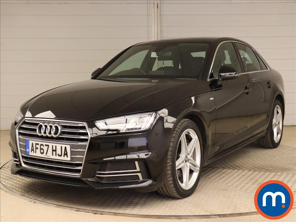 Audi A4 S Line - Stock Number 1112380 Passenger side front corner