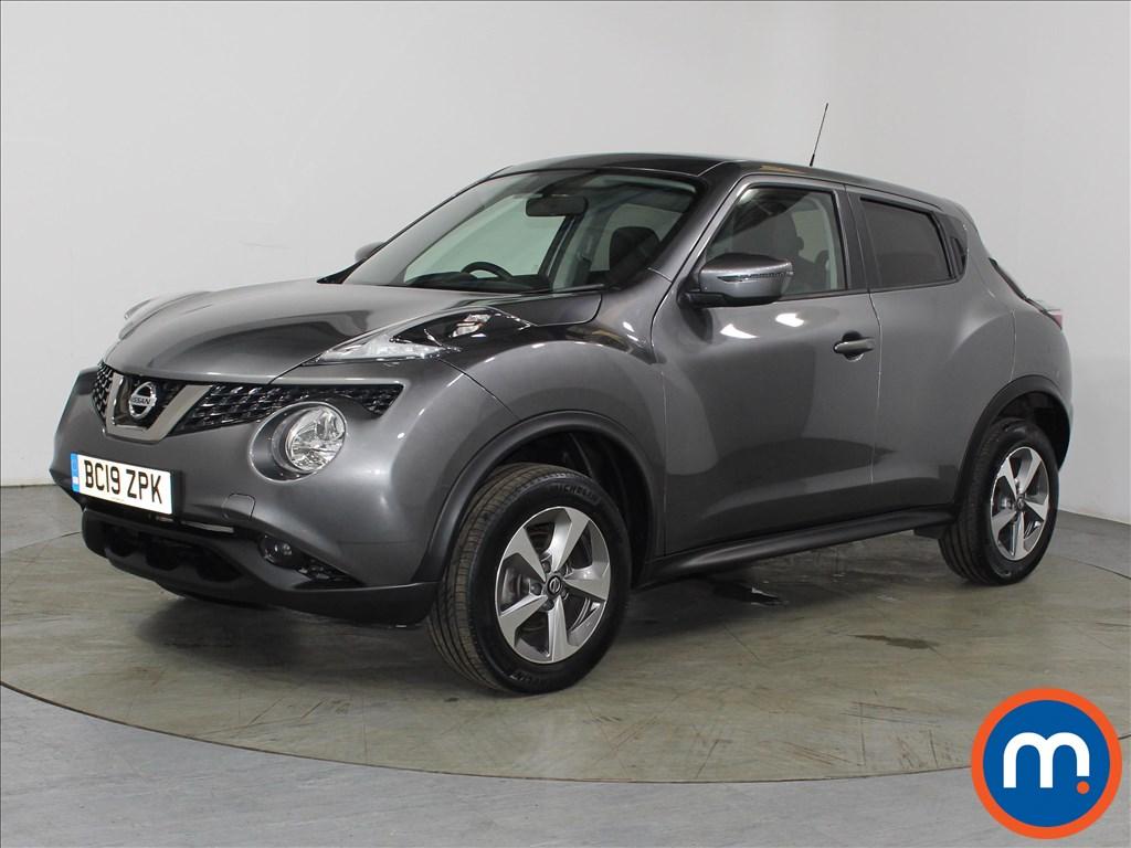 Nissan Juke Acenta - Stock Number 1110556 Passenger side front corner
