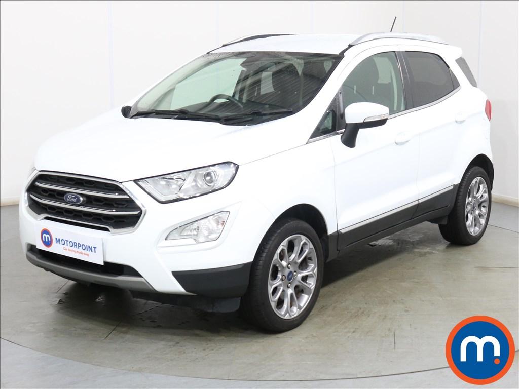 Ford Ecosport Titanium - Stock Number 1116216 Passenger side front corner