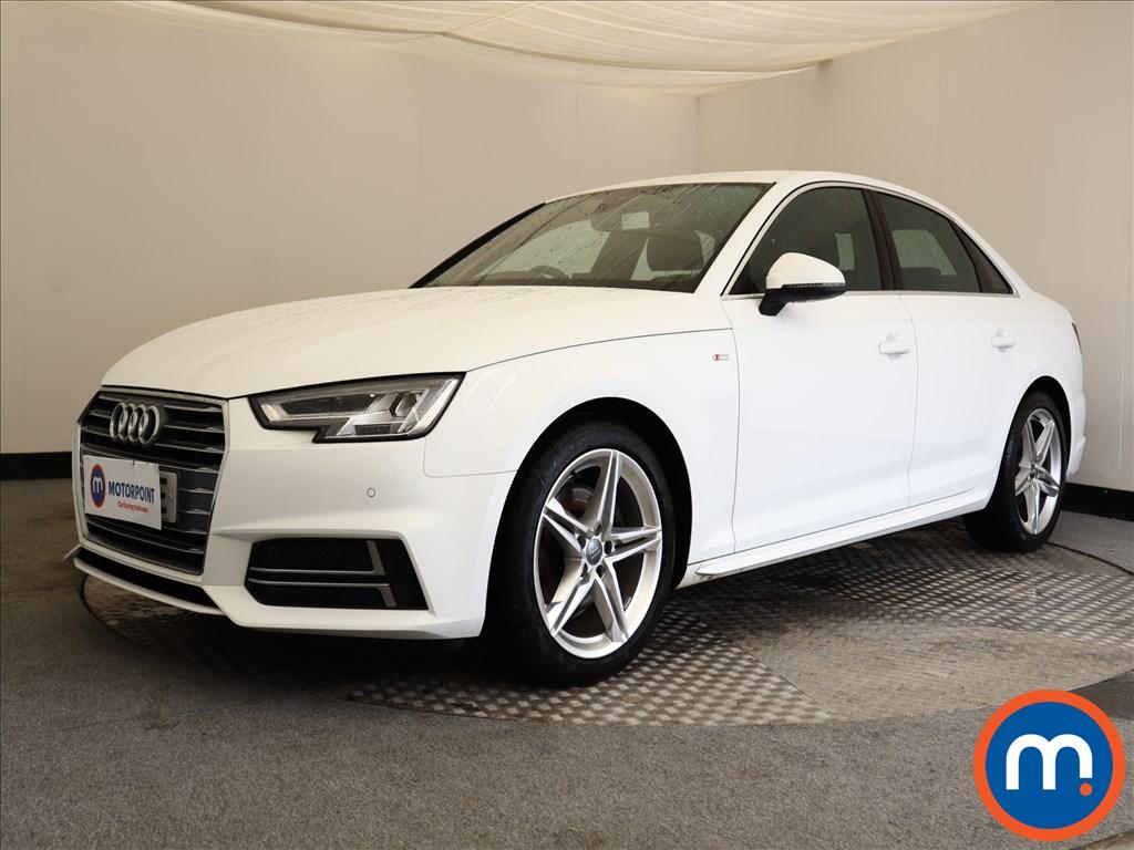 Audi A4 S Line - Stock Number 1119347 Passenger side front corner