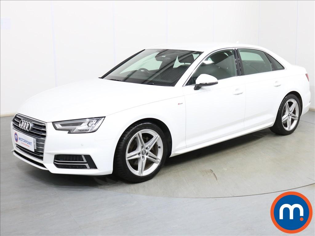 Audi A4 S Line - Stock Number 1119346 Passenger side front corner