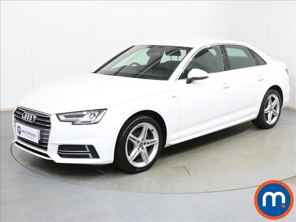 Audi A4 S Line - Stock Number 1119345 Passenger side front corner