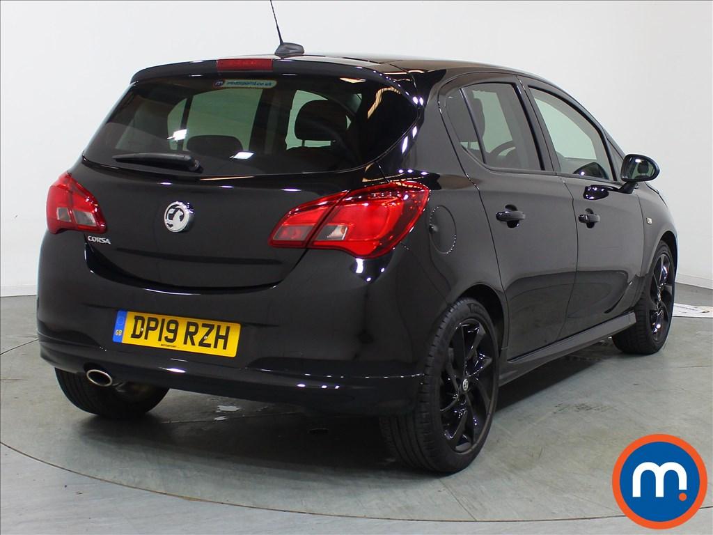 Vauxhall Corsa SRi Vx-line Nav Black - Stock Number 1110388 Passenger side front corner