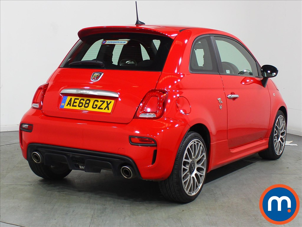 Abarth 595 1.4 T-Jet 145 3dr - Stock Number 1118123 Passenger side front corner