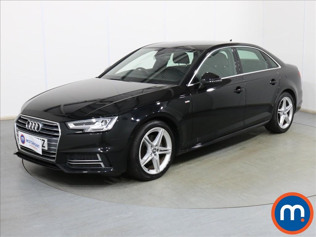 Audi A4 S Line - Stock Number 1119361 Passenger side front corner