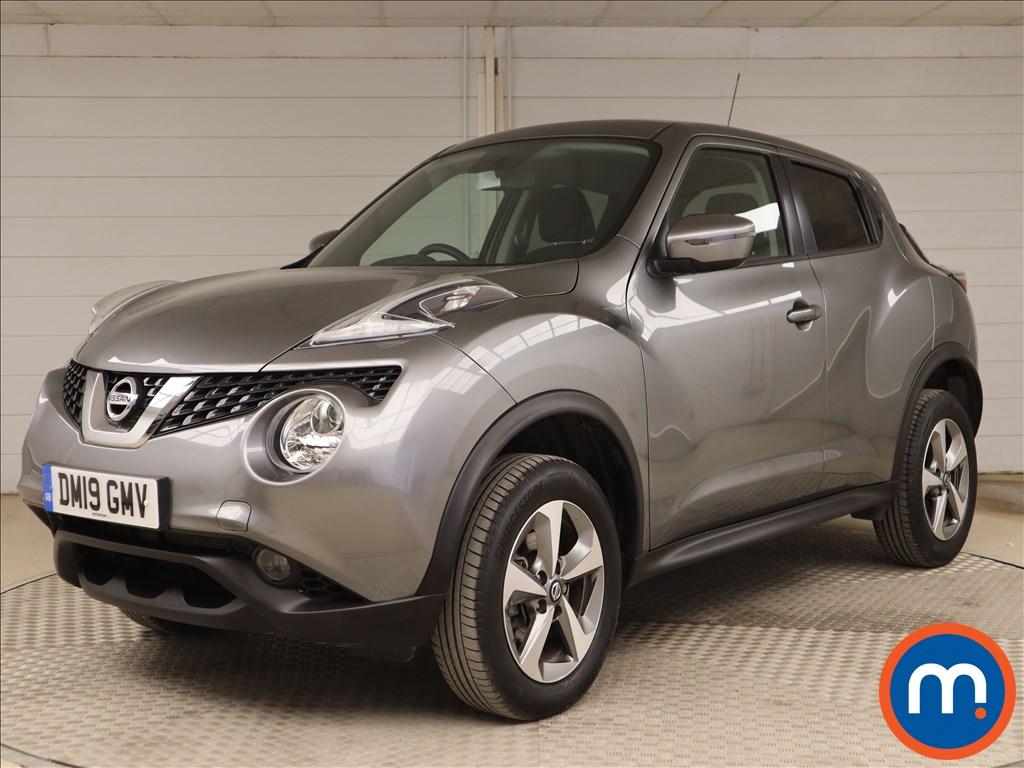 Nissan Juke Acenta - Stock Number 1110579 Passenger side front corner