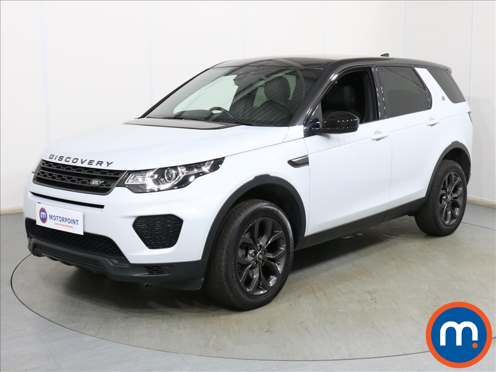 Land Rover Discovery Sport Landmark - Stock Number 1119411 Passenger side front corner