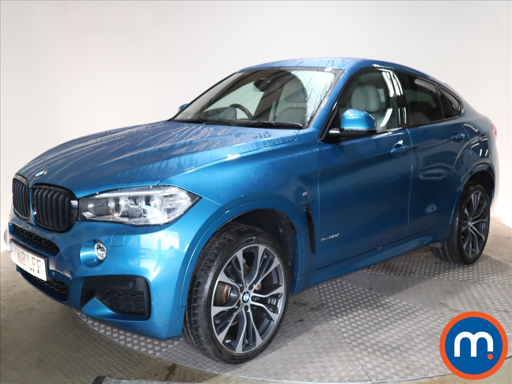 BMW X6 M Sport Edition - Stock Number 1118717 Passenger side front corner