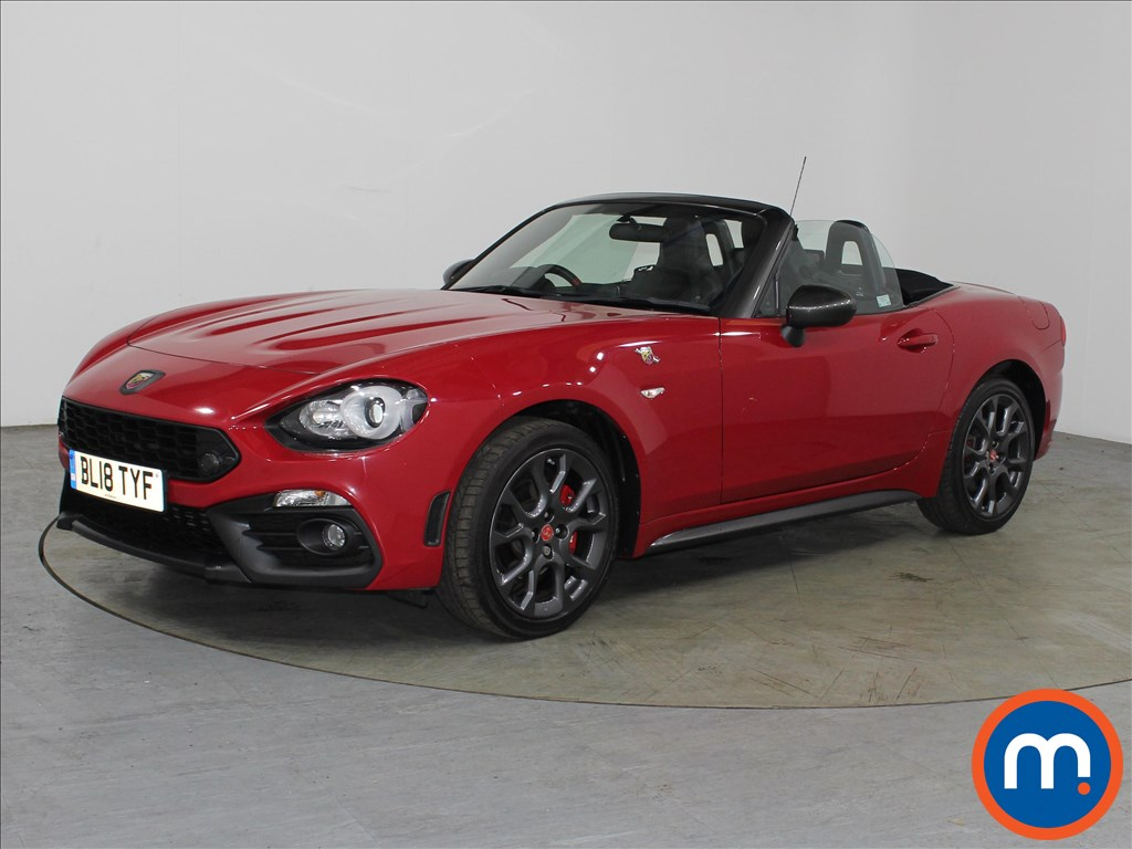 Abarth 124 Spider 1.4 T MultiAir 2dr Auto - Stock Number 1118229 Passenger side front corner