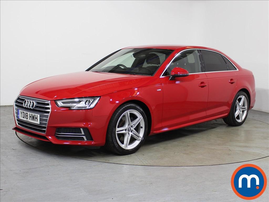 Audi A4 S Line - Stock Number 1119392 Passenger side front corner