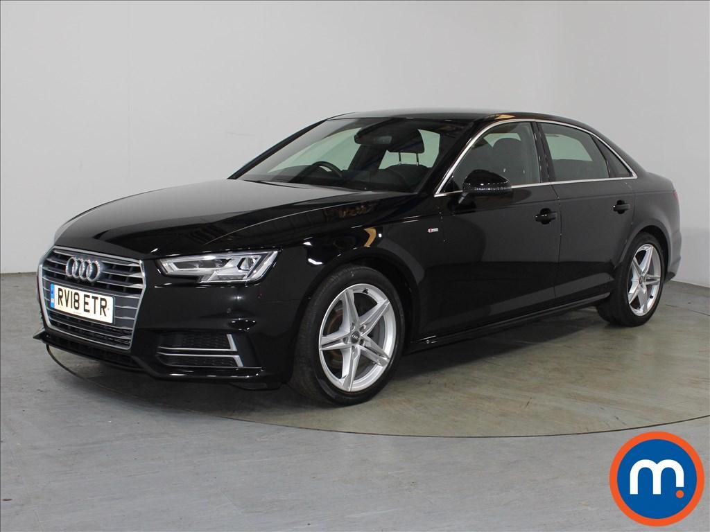 Audi A4 S Line - Stock Number 1118311 Passenger side front corner