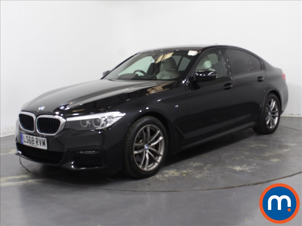 BMW 5 Series M Sport - Stock Number 1122210 Passenger side front corner