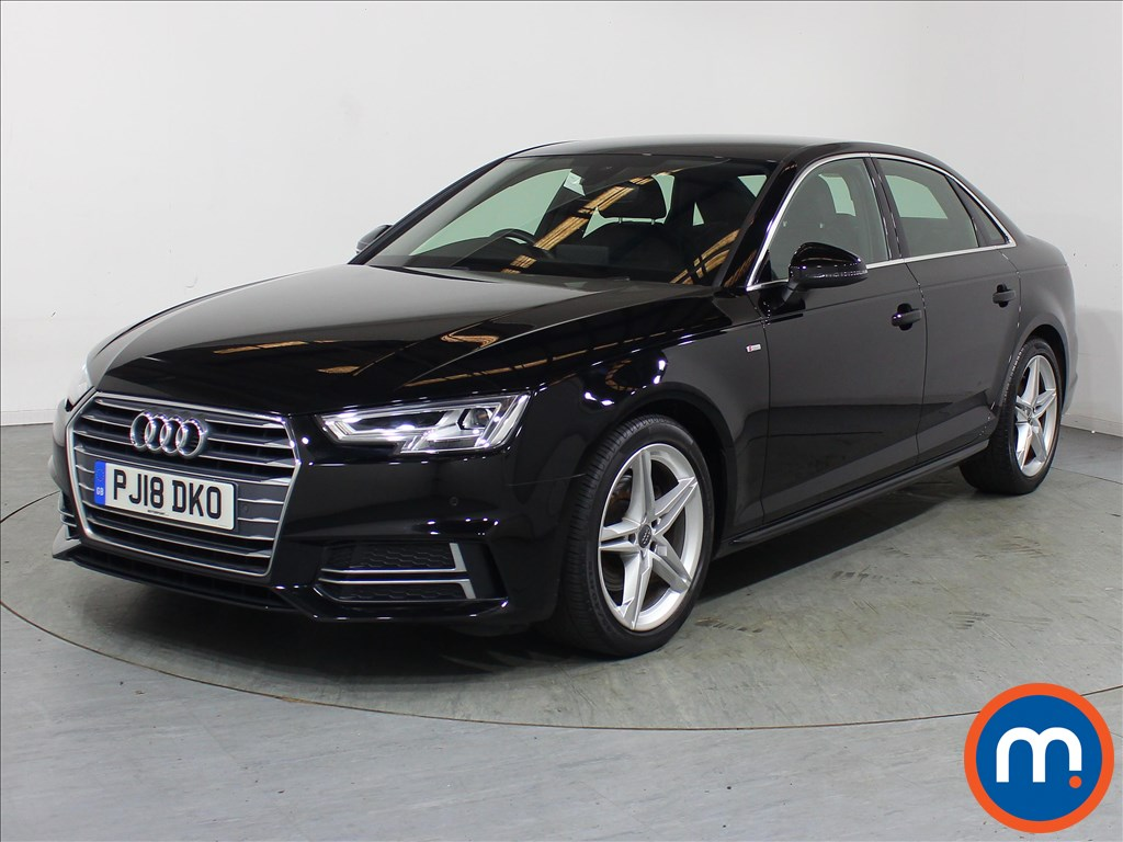 Audi A4 1.4T FSI S Line 4dr [Leather-Alc] - Stock Number 1120332 Passenger side front corner