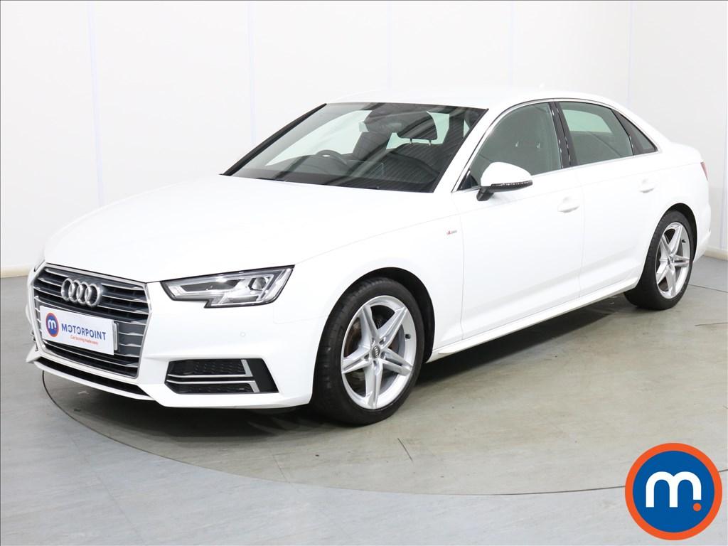 Audi A4 S Line - Stock Number 1119393 Passenger side front corner