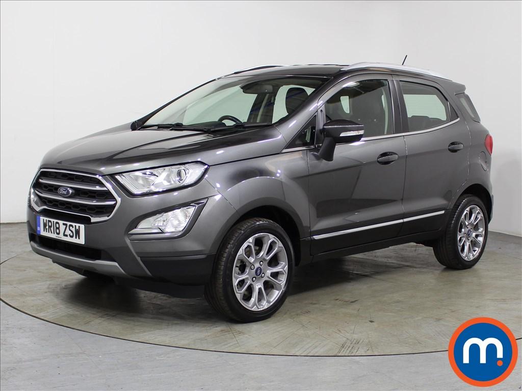 Ford Ecosport Titanium - Stock Number 1118084 Passenger side front corner