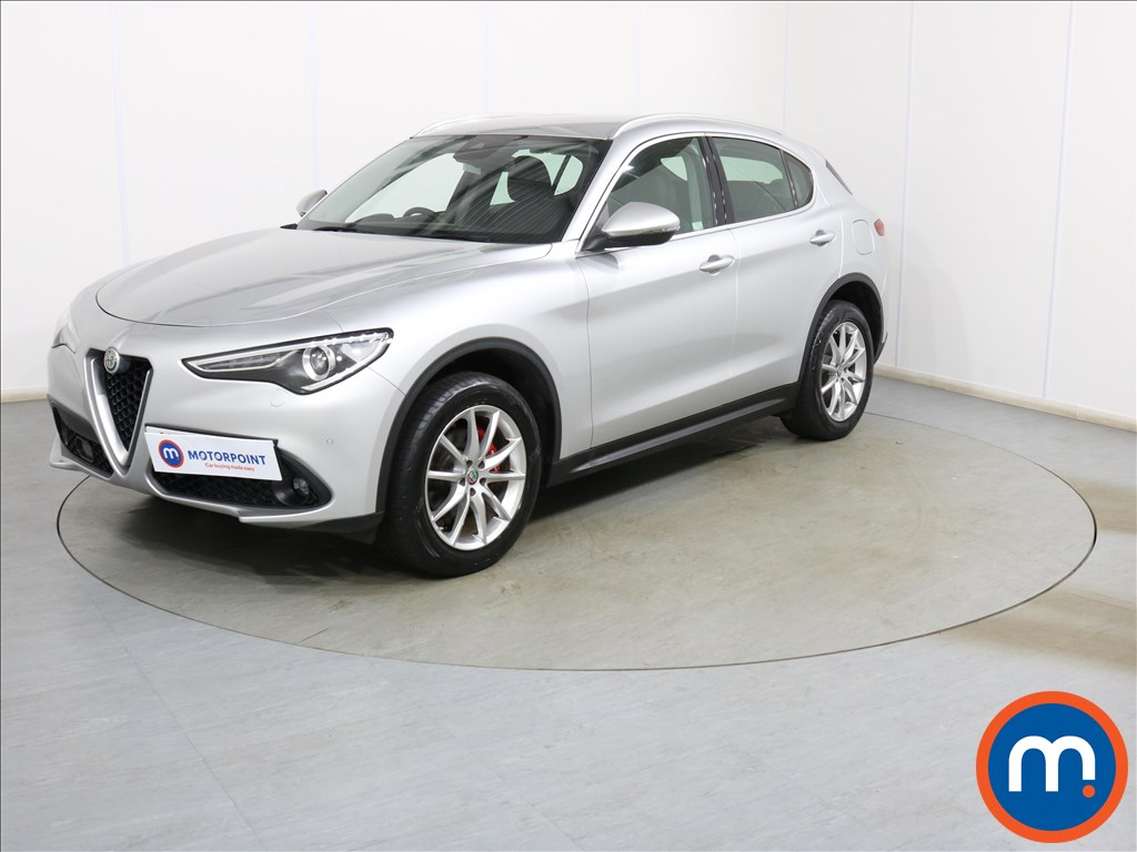 Alfa Romeo Stelvio Speciale - Stock Number 1117307 Passenger side front corner