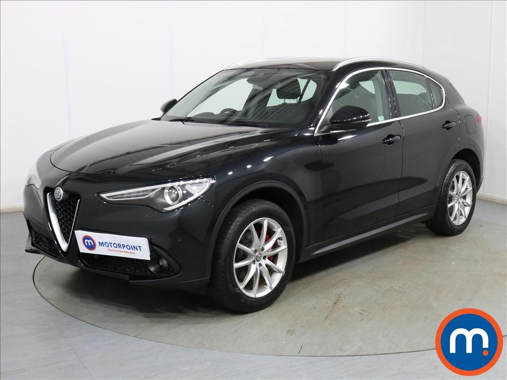 Alfa Romeo Stelvio Speciale - Stock Number 1117309 Passenger side front corner