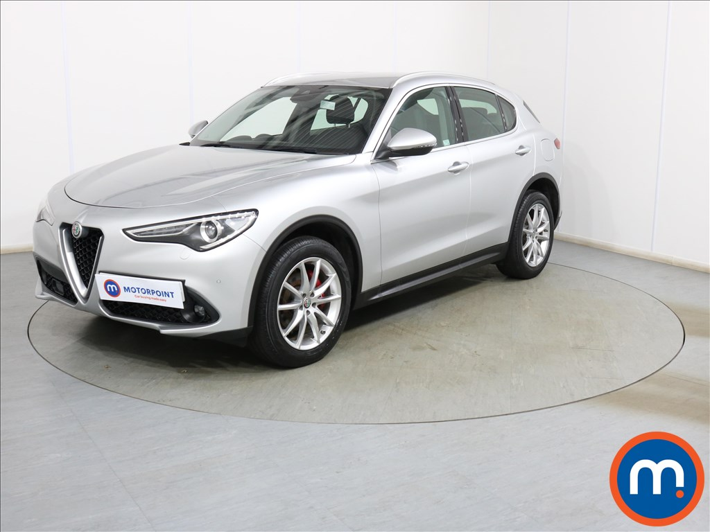 Alfa Romeo Stelvio Speciale - Stock Number 1117312 Passenger side front corner