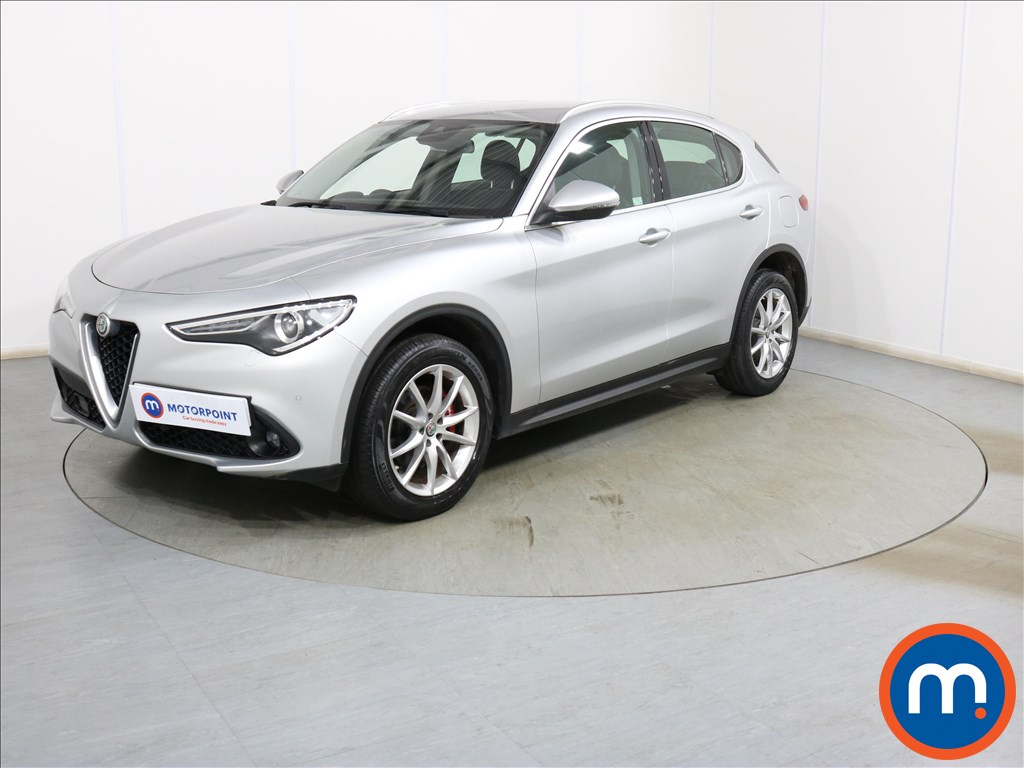 Alfa Romeo Stelvio Speciale - Stock Number 1117308 Passenger side front corner