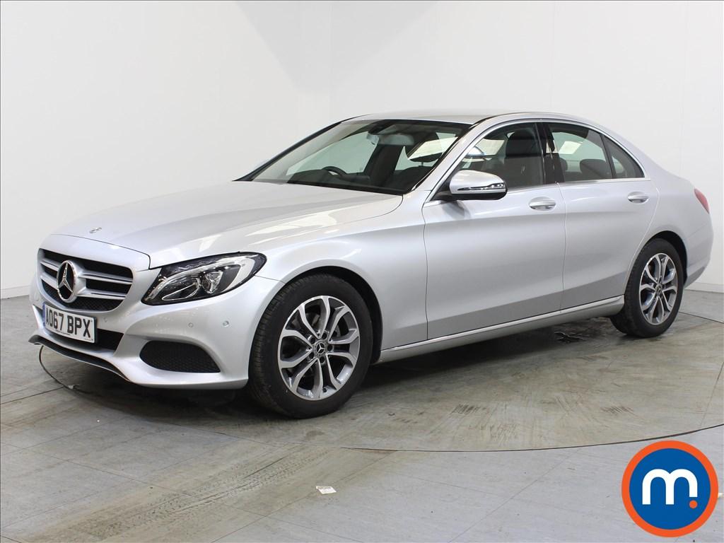 Mercedes-Benz C Class Sport - Stock Number 1119579 Passenger side front corner
