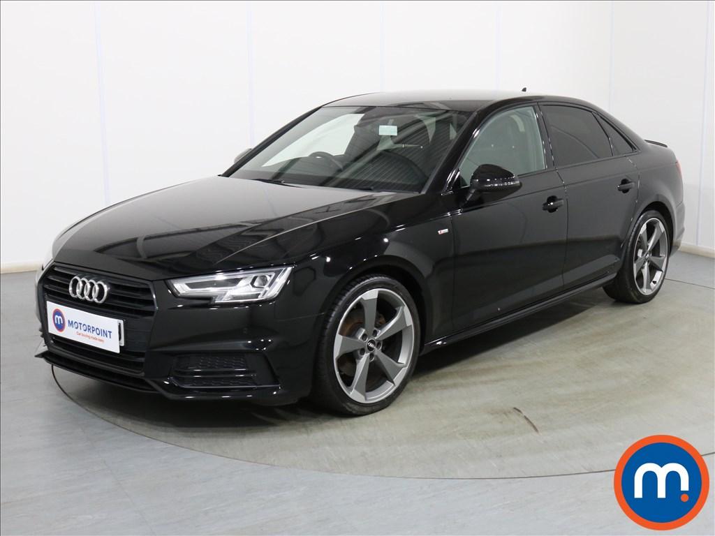 Audi A4 Black Edition - Stock Number 1120914 Passenger side front corner