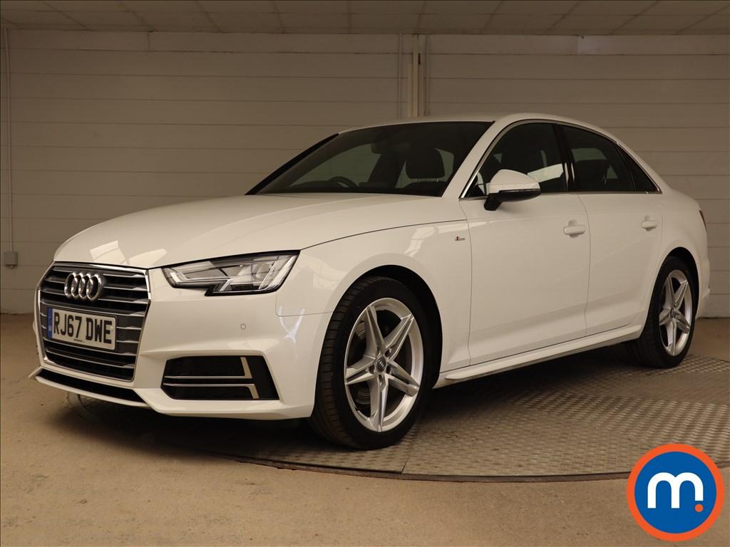 Audi A4 S Line - Stock Number 1119373 Passenger side front corner