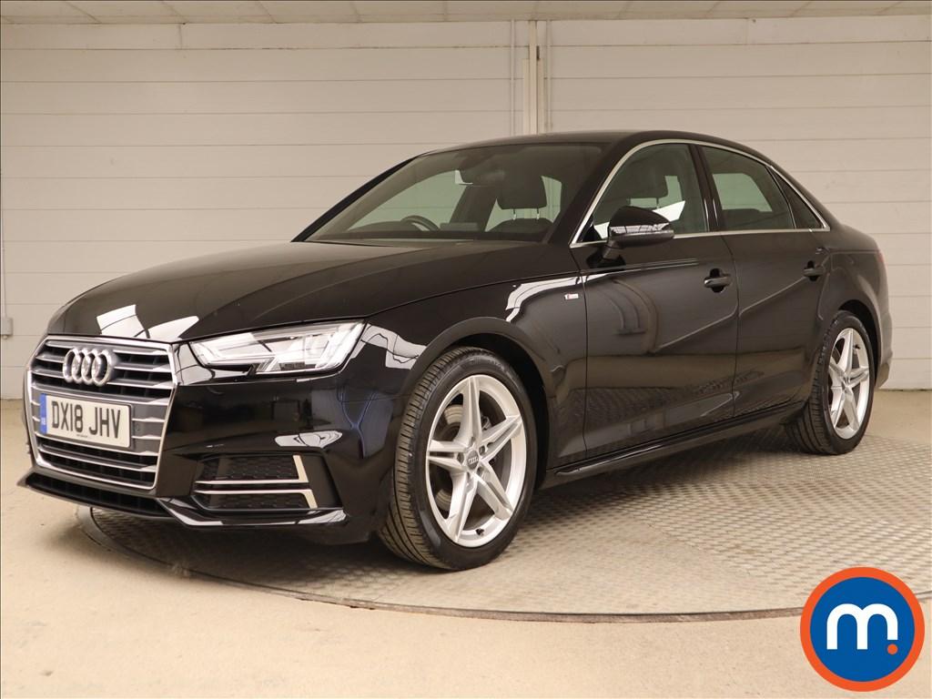 Audi A4 S Line - Stock Number 1119359 Passenger side front corner