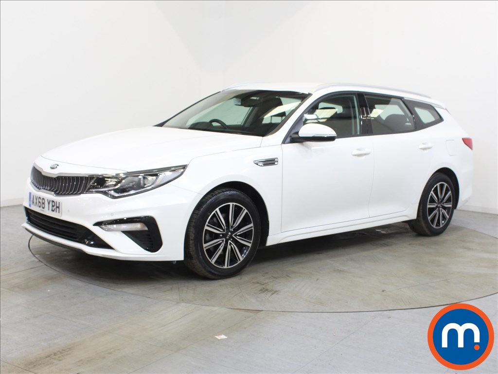 KIA Optima 2 - Stock Number 1122312 Passenger side front corner