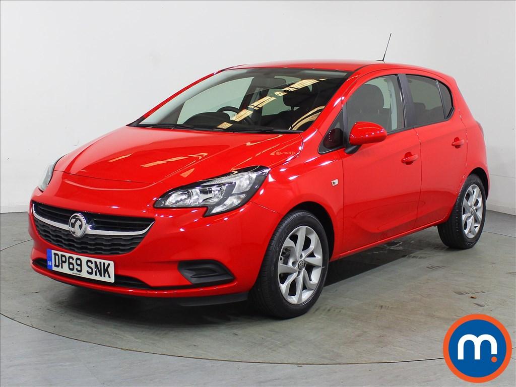 Vauxhall Corsa Sport - Stock Number 1122098 Passenger side front corner