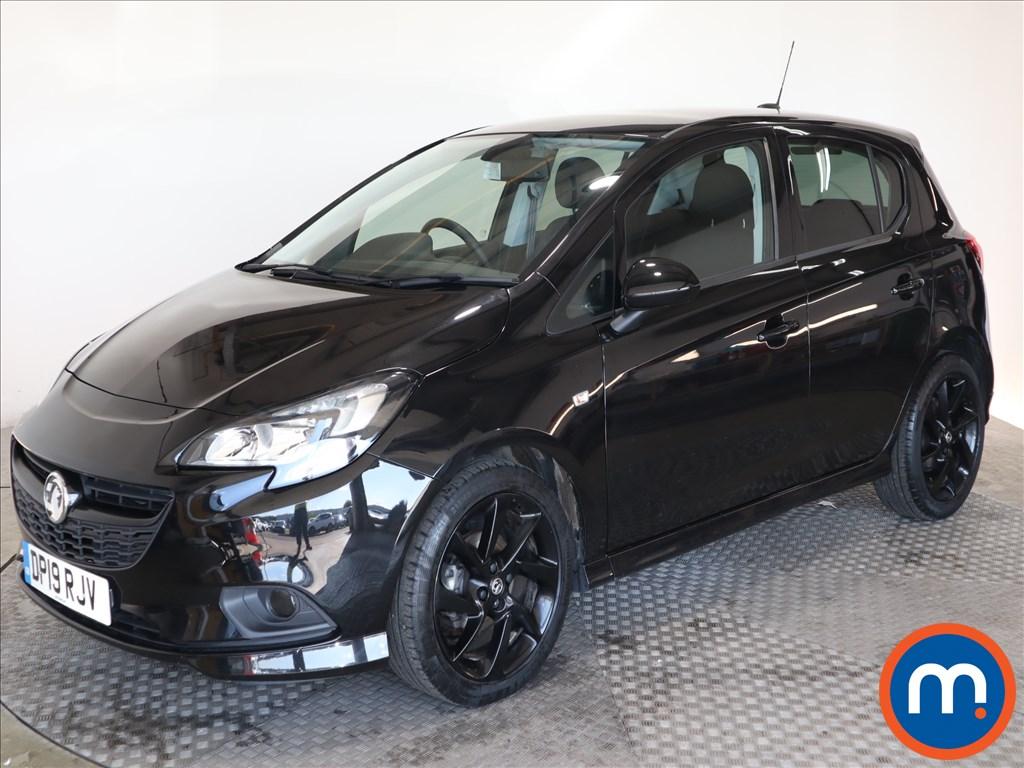 Vauxhall Corsa SRi Vx-line Nav Black - Stock Number 1118515 Passenger side front corner