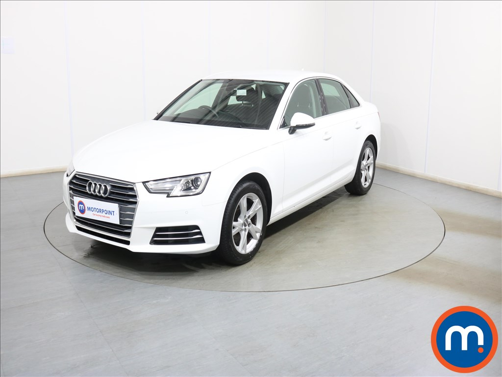 Audi A4 Sport - Stock Number 1119082 Passenger side front corner