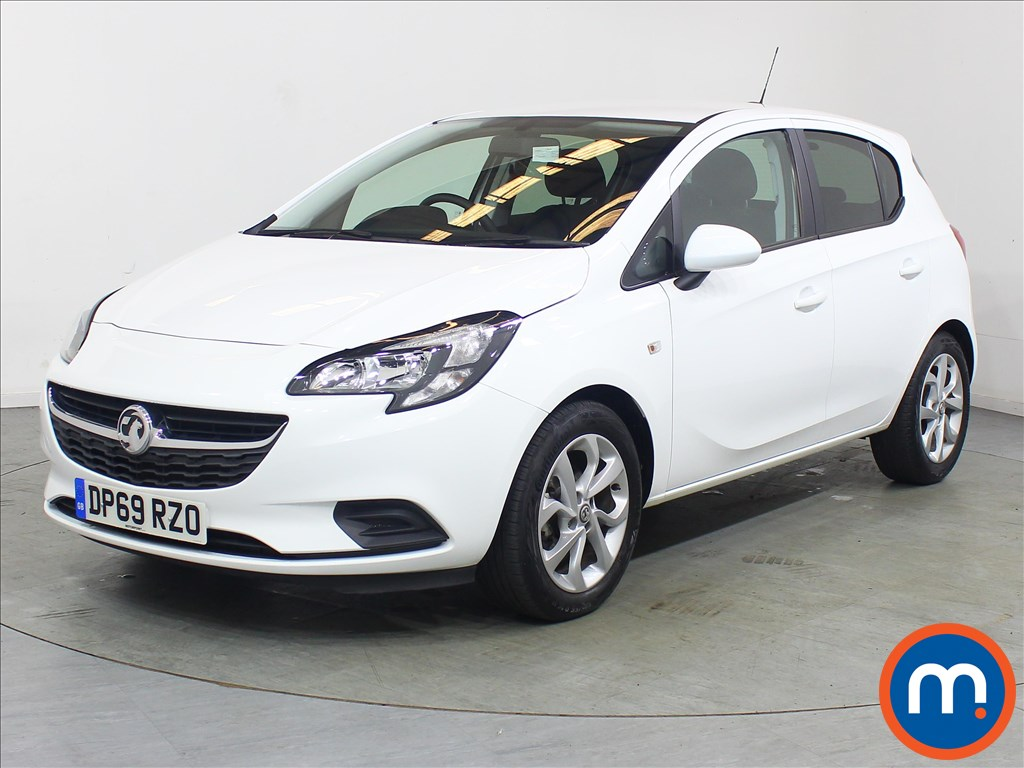Vauxhall Corsa Sport - Stock Number 1120446 Passenger side front corner