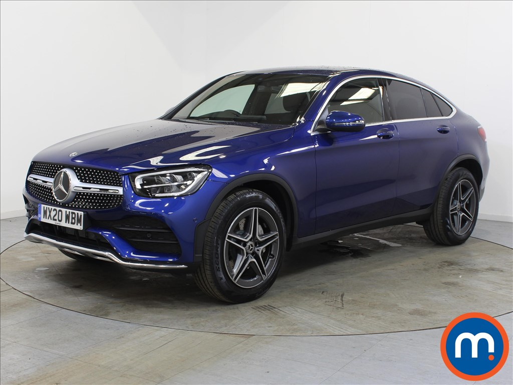 Mercedes-Benz Glc Coupe AMG Line - Stock Number 1120338 Passenger side front corner