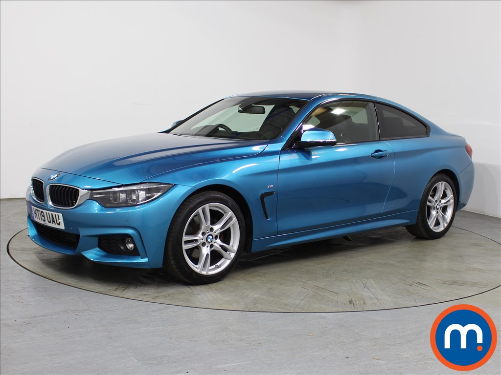 BMW 4 Series M Sport - Stock Number 1089018 Passenger side front corner