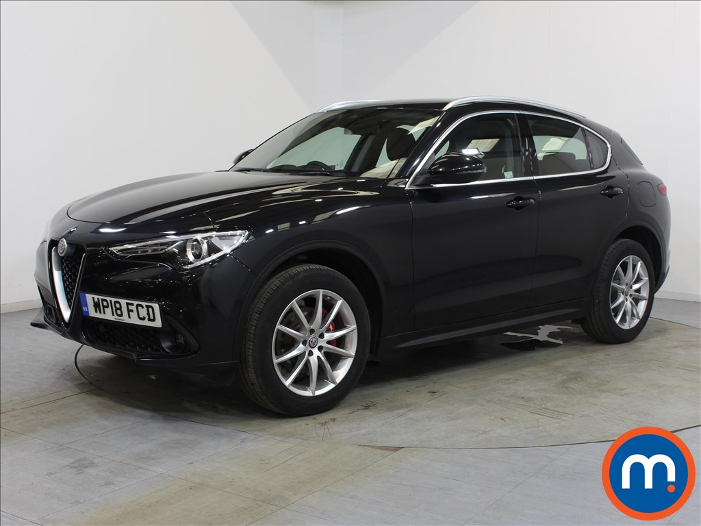 Alfa Romeo Stelvio Speciale - Stock Number 1117302 Passenger side front corner