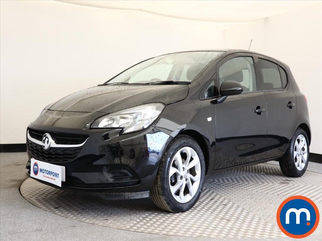 Vauxhall Corsa SRi Vx-line Nav Black - Stock Number 1120896 Passenger side front corner