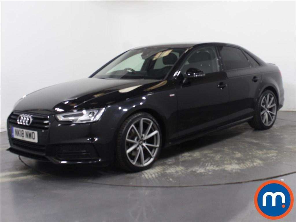 Audi A4 Black Edition - Stock Number 1122833 Passenger side front corner