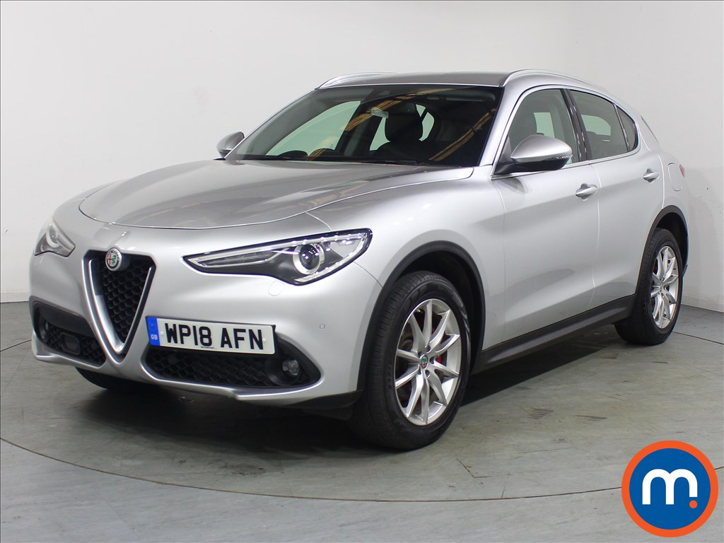 Alfa Romeo Stelvio Speciale - Stock Number 1117311 Passenger side front corner