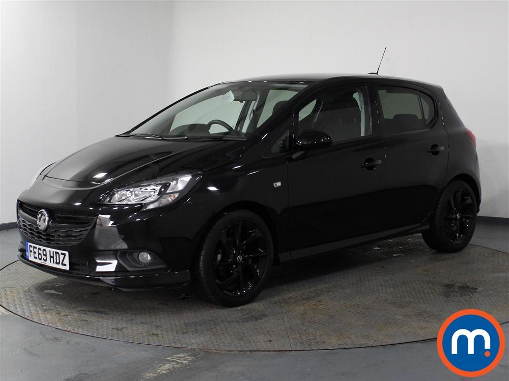 Vauxhall Corsa 1.4 SRi Vx-line Nav Black 5dr - Stock Number 1119808 Passenger side front corner