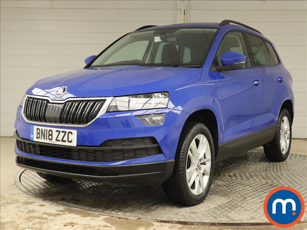 Skoda Karoq SE Technology - Stock Number 1124639 Passenger side front corner