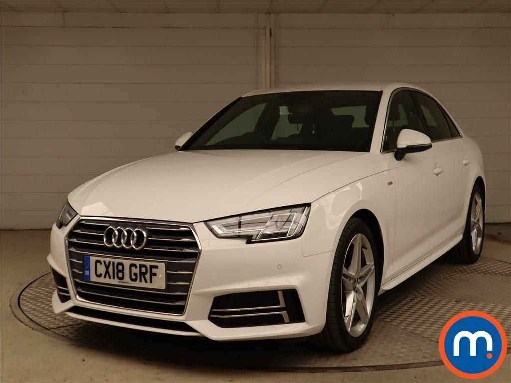 Audi A4 S Line - Stock Number 1126446 Passenger side front corner