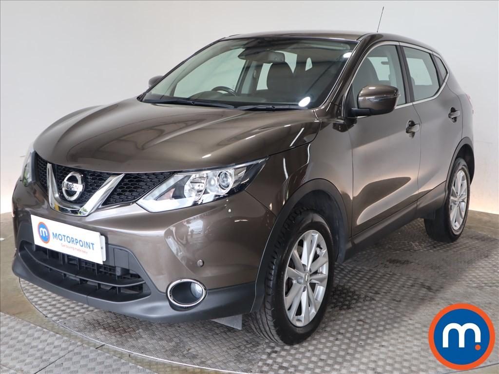Nissan Qashqai Acenta - Stock Number 1125915 Passenger side front corner