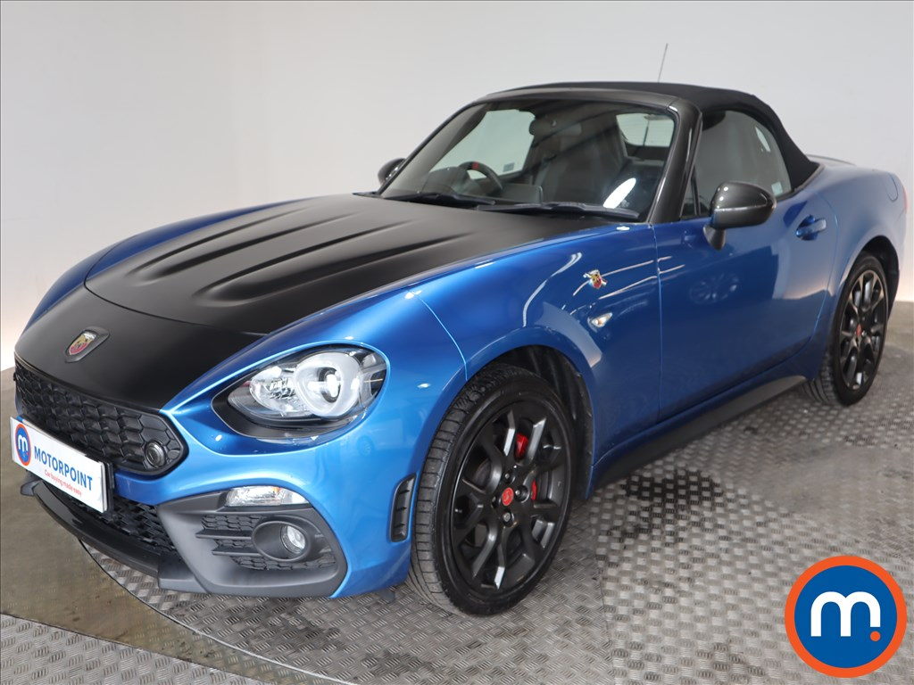 Abarth 124 Spider 1.4 T MultiAir 2dr Auto - Stock Number 1128503 Passenger side front corner