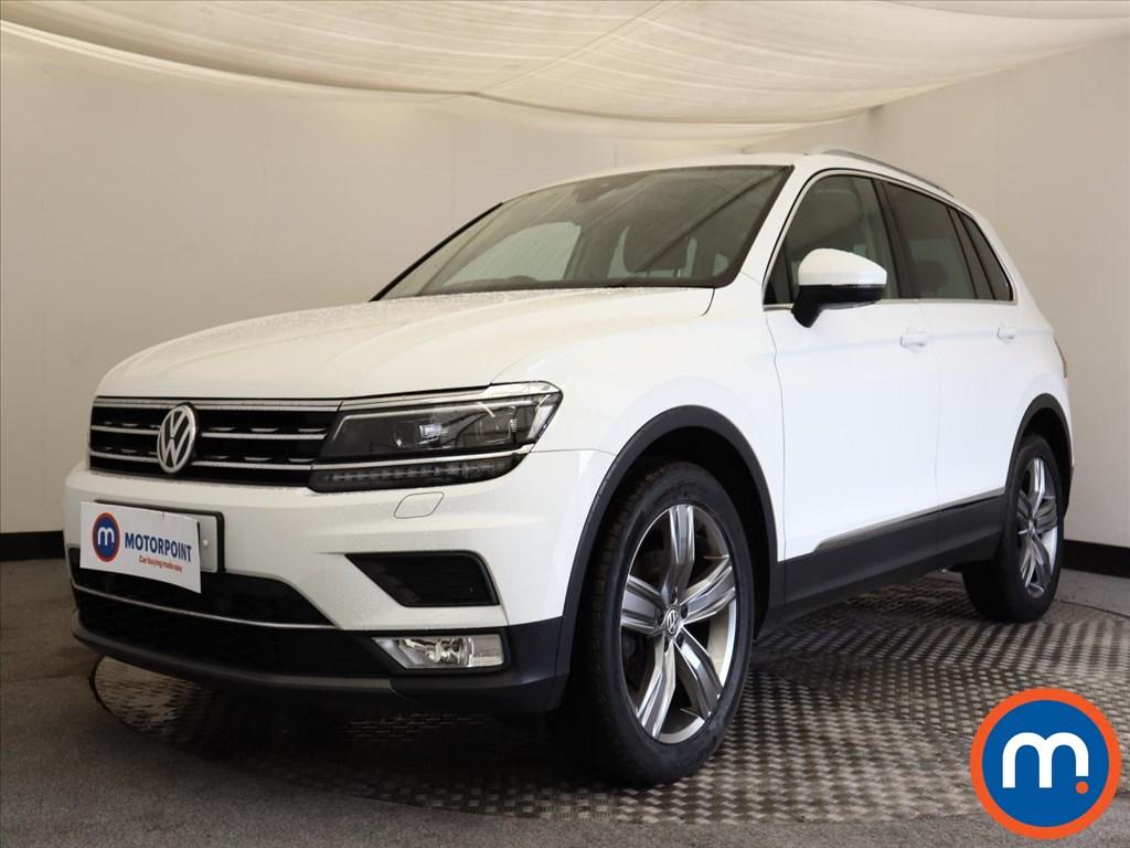 Volkswagen Tiguan SEL - Stock Number 1124881 Passenger side front corner