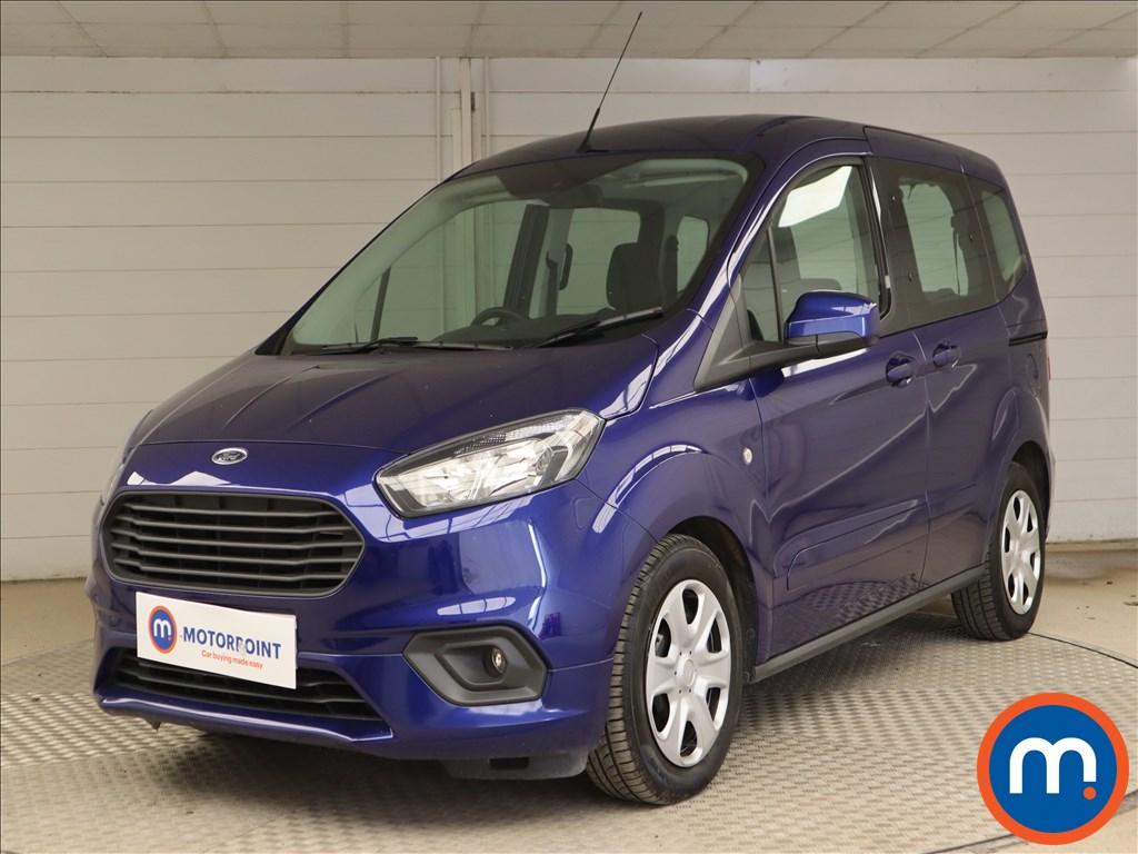 Ford Tourneo Courier Zetec - Stock Number 1124687 Passenger side front corner