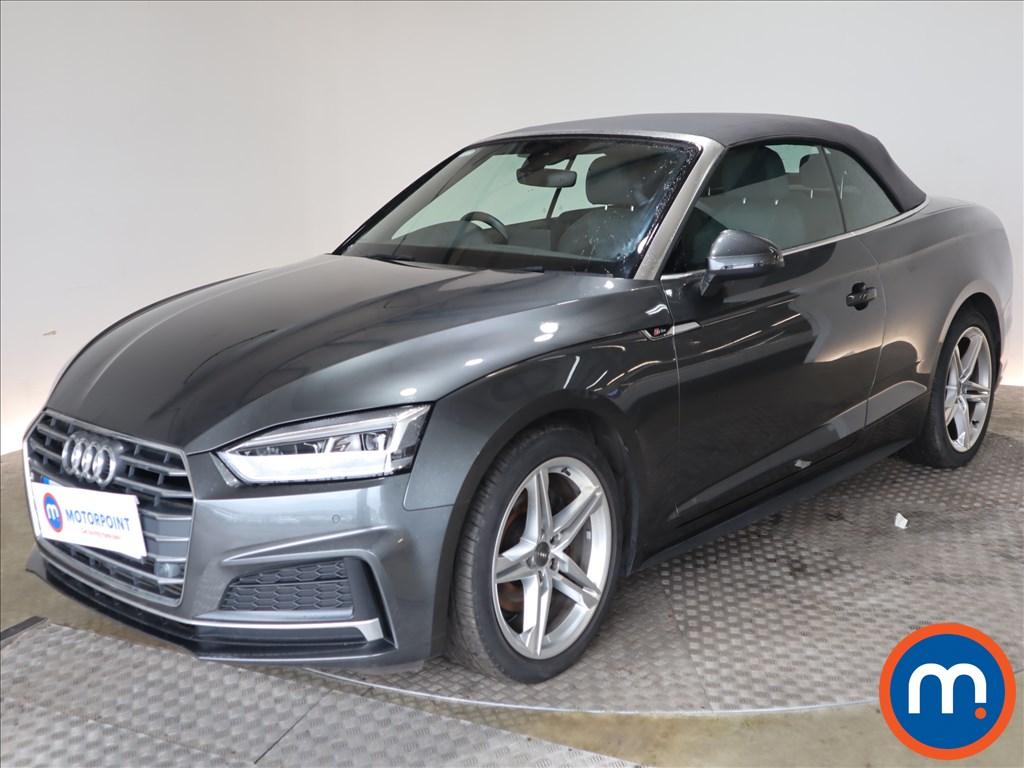 Audi A5 S Line - Stock Number 1124698 Passenger side front corner